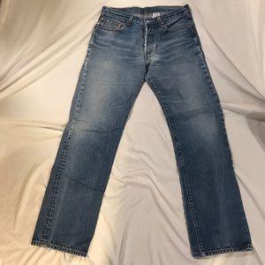 Levi's 501 Jeans Men's Size 34 X 38